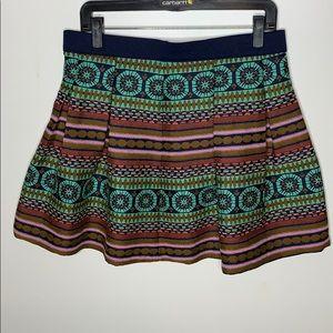 Nomad Morgan Carper Iremer Brocade Skirt size 12